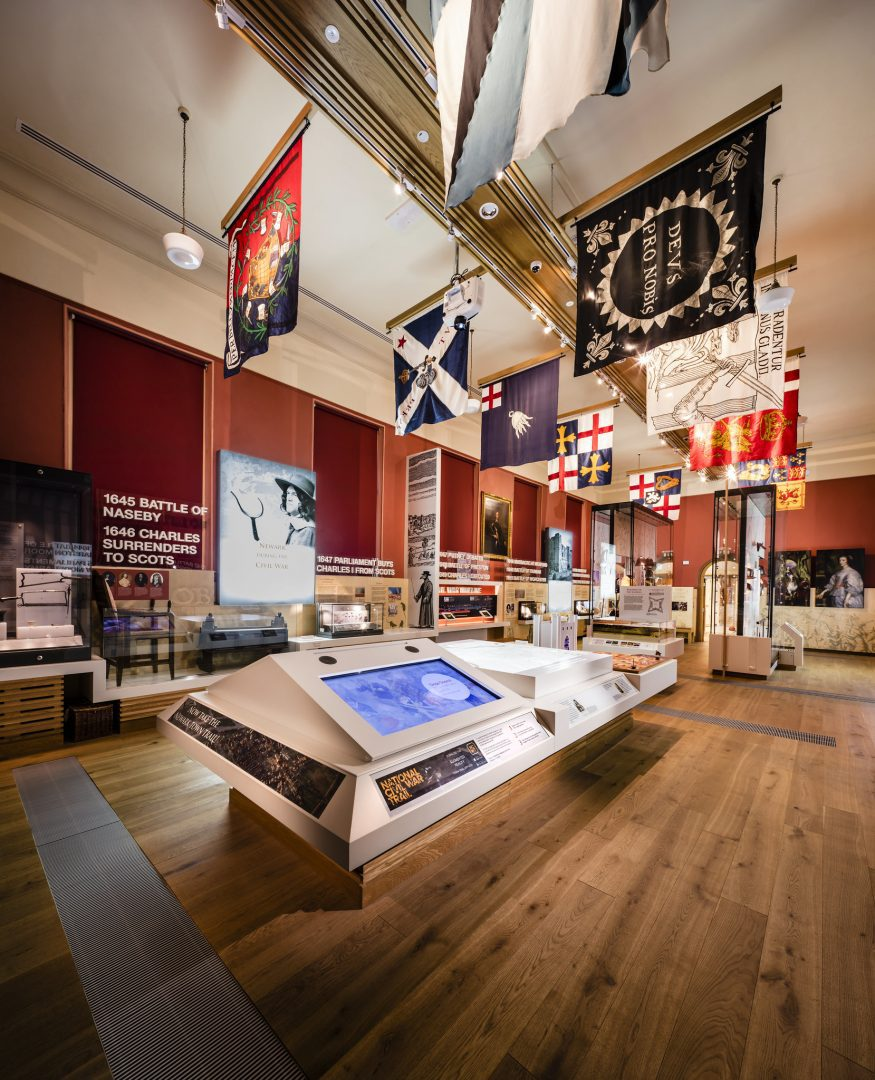 Main exhibition at the National Civil War Centre