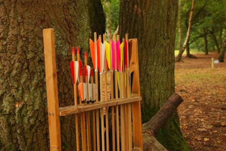 Have a go archery at Sherwood Forest