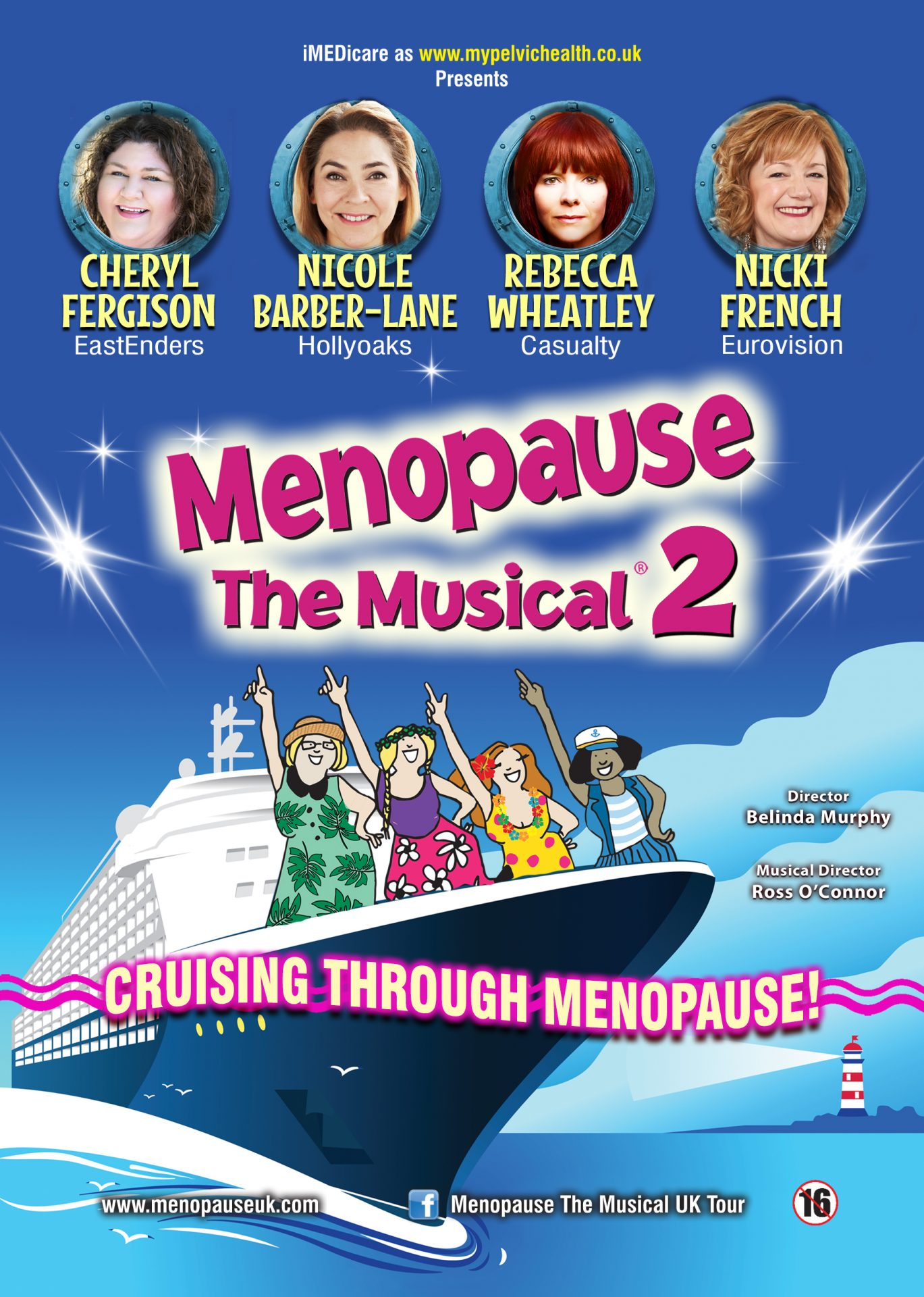Menopause 2 the musical poster