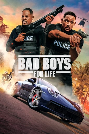 Bad Boys for Life movie poster featuring Will Smith and Martin Lawrence