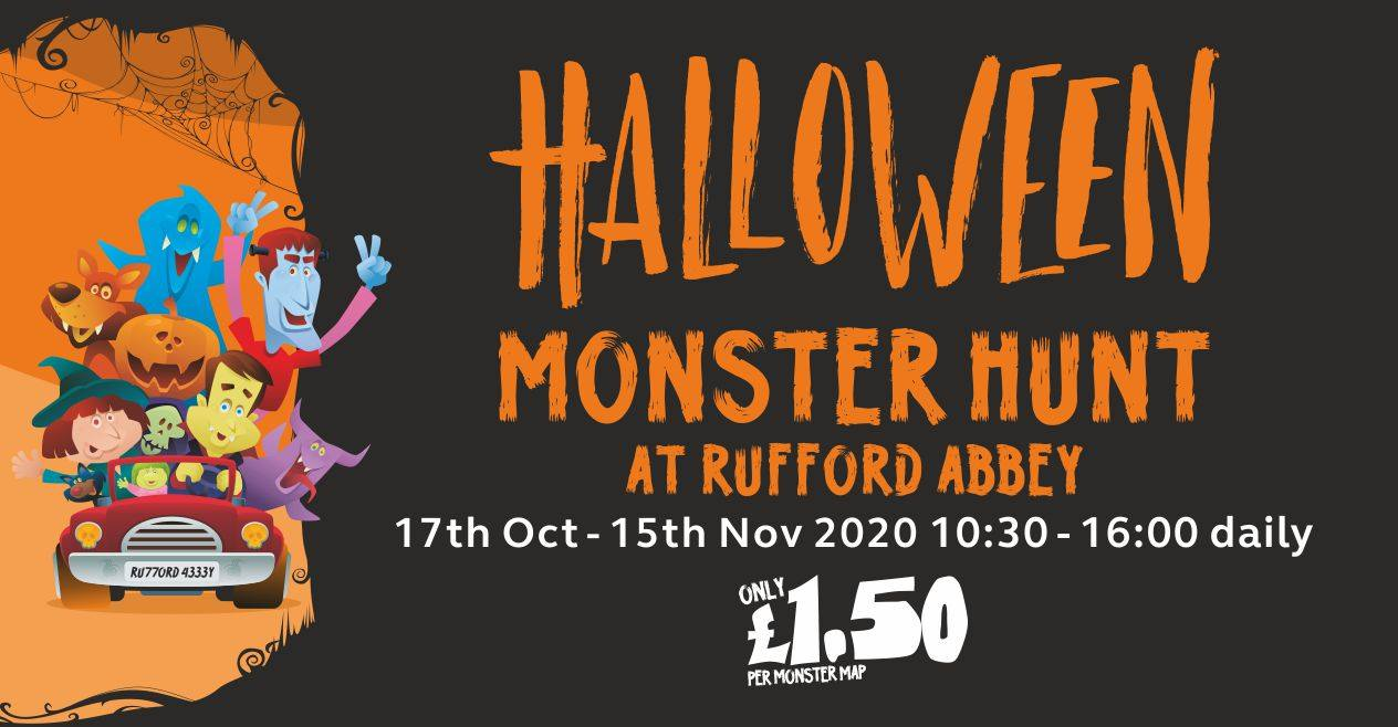 Halloween Monster Hunt Rufford Abbey Country Park