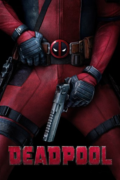 Deadpool movie poster for Nightflix film showing