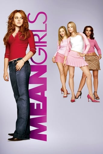 Mean girls movie poster for Nightflix's movie showing