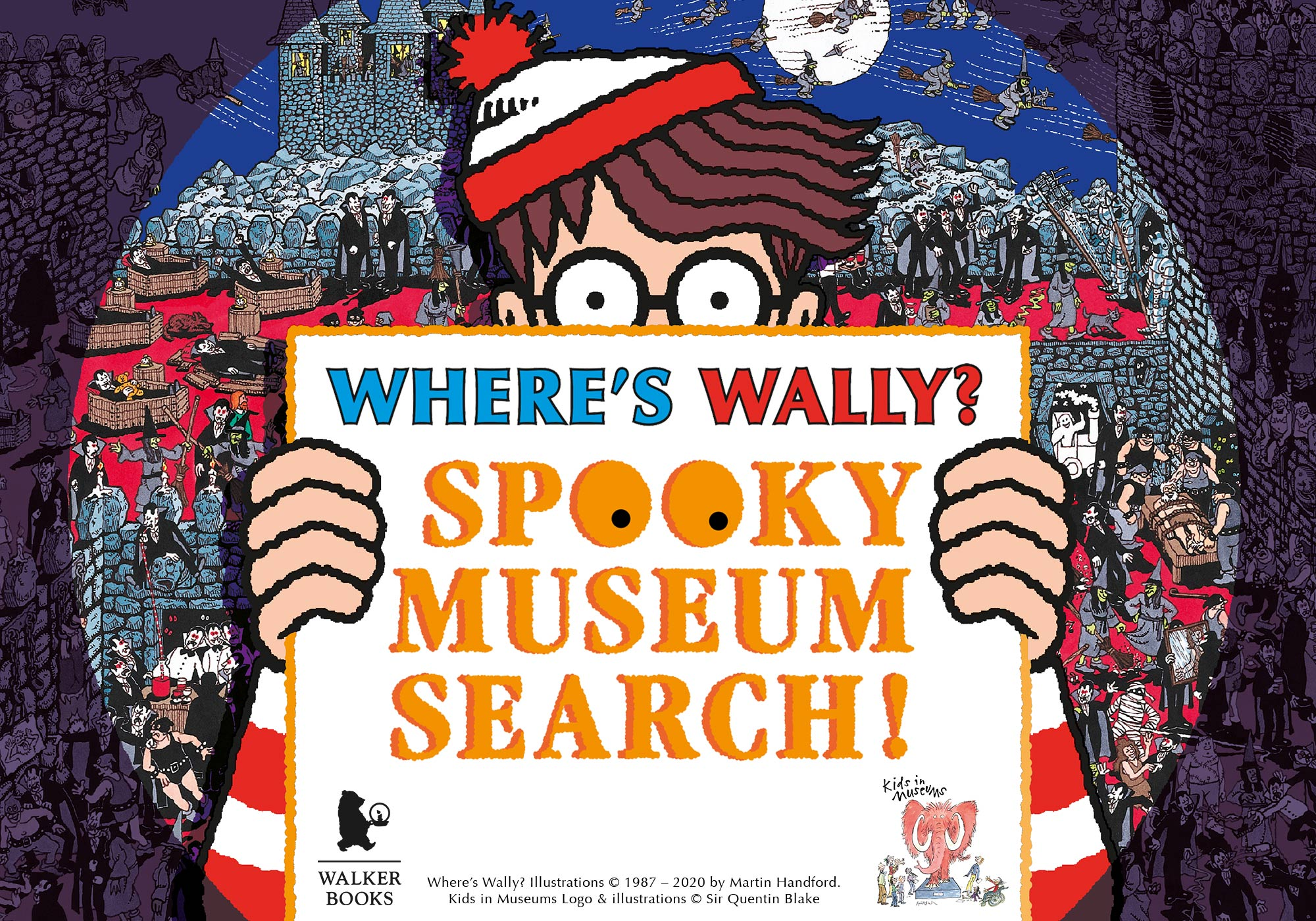Where's Wally? Spooky Museum Search at the National Civil War Centre Newark