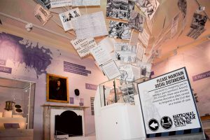 National Civil War Centre exhibition The World Turned Upside Down