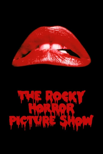 The Rocky Horror Picture Show poster with the iconic red lips