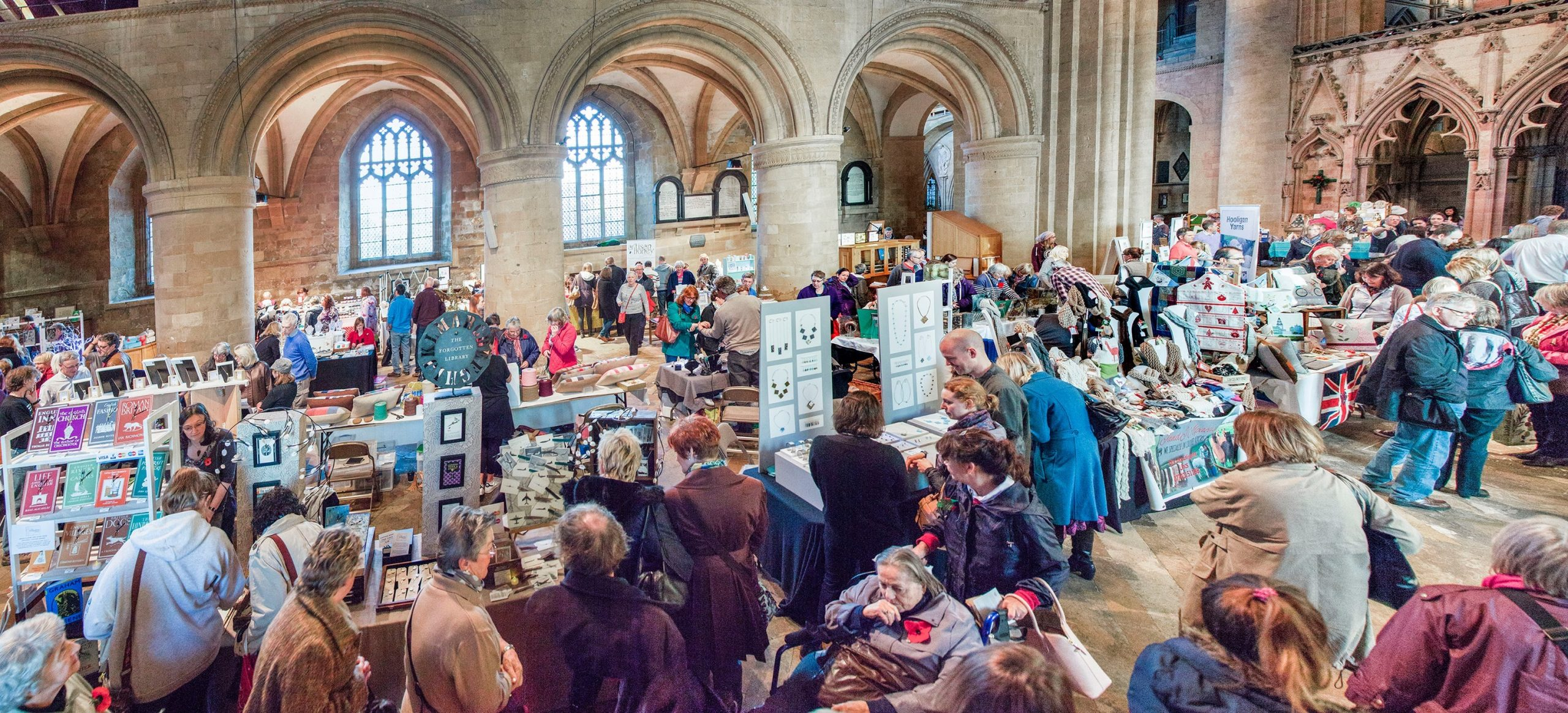Southwell Minster Winter Craft fair