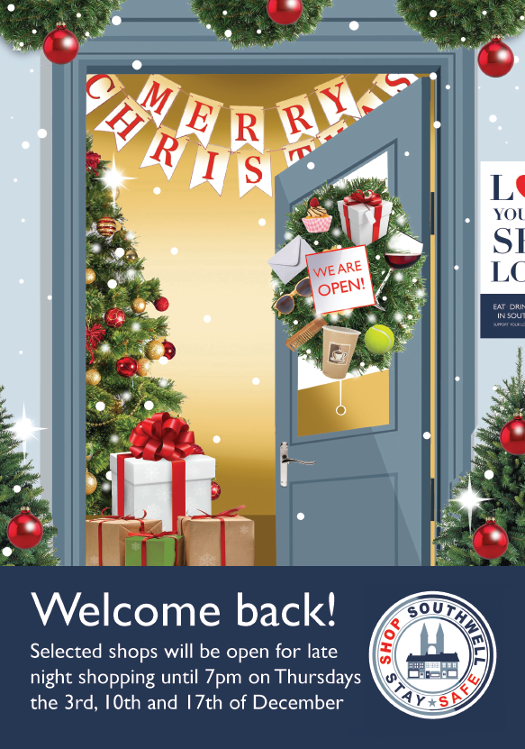 Shop Southwell Christmas poster