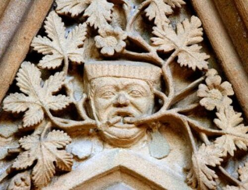 Southwell Minster's remarkable stone carvings: The Leaves of Southwell