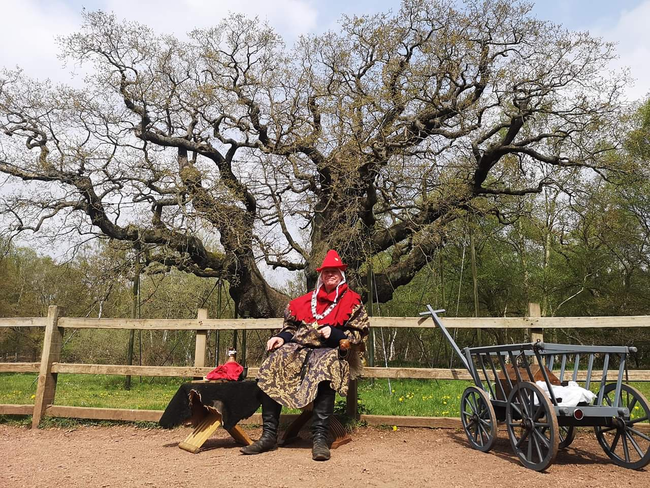 A tour with the sheriff of nottingham at Sherwood Forest