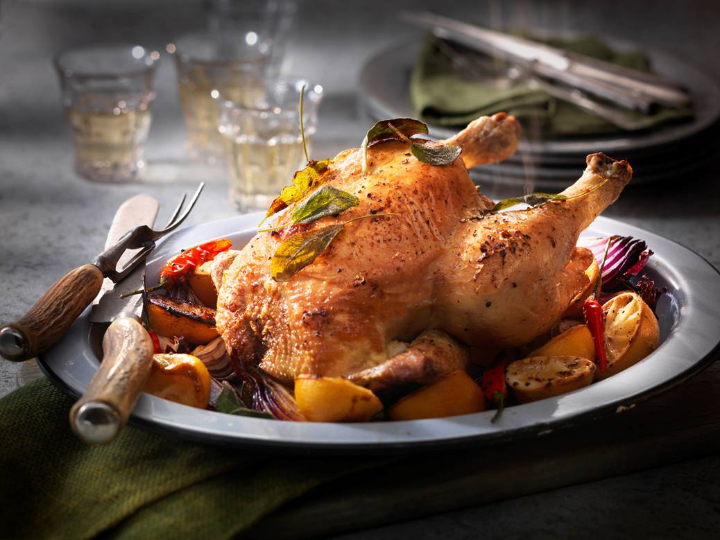 Label Anglais Chicken